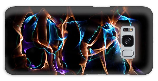 Light Grafitti Galaxy Case