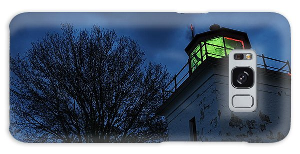 Lighthouse At Night Galaxy Case