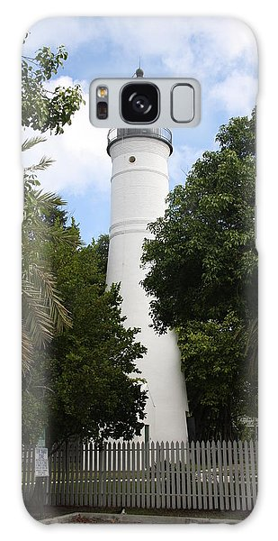 Lighthouse - Key West Galaxy Case by Christiane Schulze Art And Photography