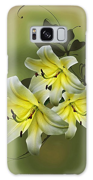 Lily Trio Galaxy Case