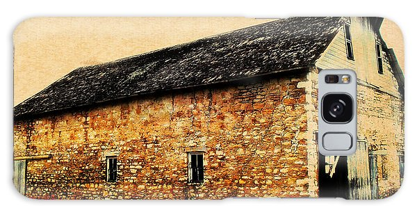 Lime Stone Barn Galaxy Case by Julie Hamilton