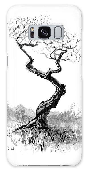 Little Zen Tree 1820 Galaxy Case by Sean Seal