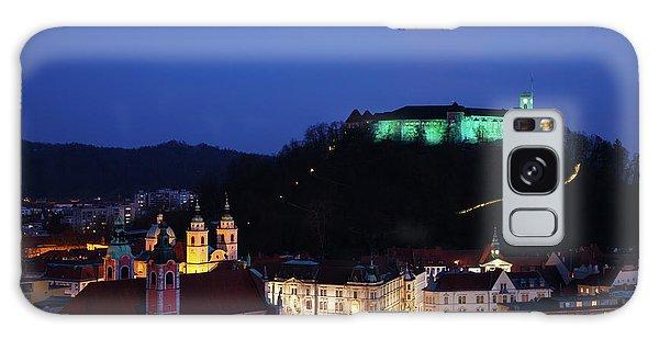 Ljubljana Castle Galaxy Case by Ian Middleton