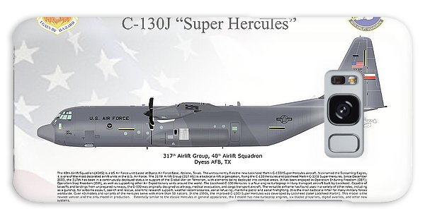 Lockheed Martin C-130j-30 Super Hercules Galaxy Case