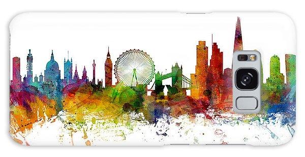 London England Skyline Panoramic Galaxy Case