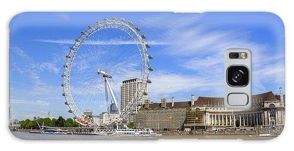 London Eye Galaxy Case - London Eye by Joana Kruse