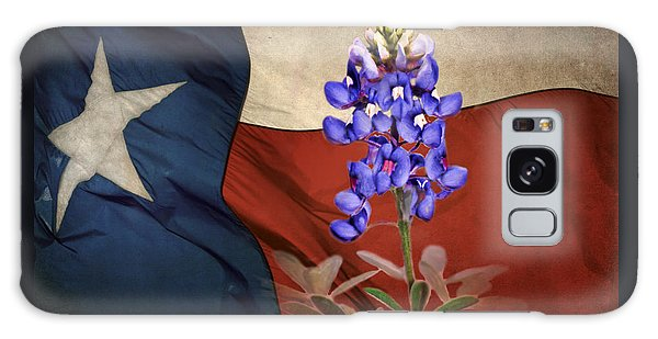 Lone Star Bluebonnet Galaxy Case