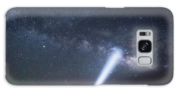 Galaxy Case featuring the photograph Looking For The Milkyway by Melany Sarafis