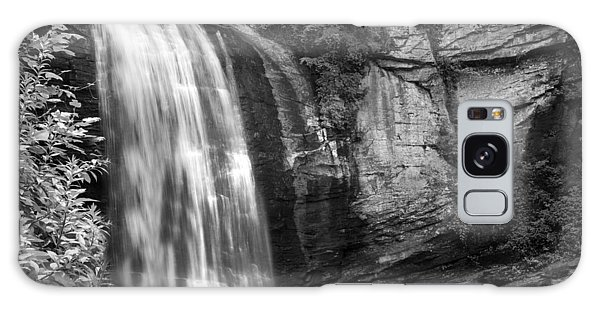 Galaxy Case featuring the photograph Looking Glass Falls by Howard Salmon