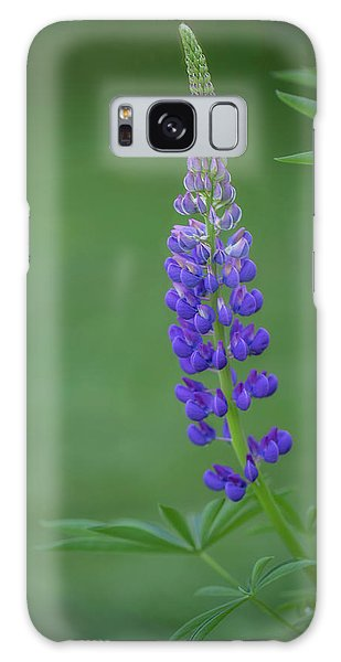 Graceful Lupine Galaxy Case
