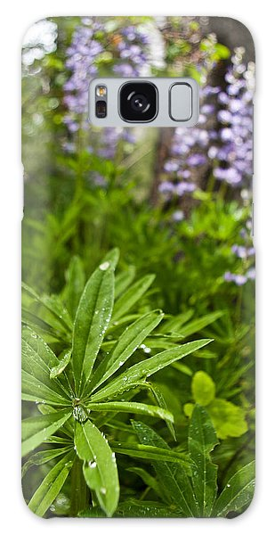 Lupine Leaf Galaxy Case