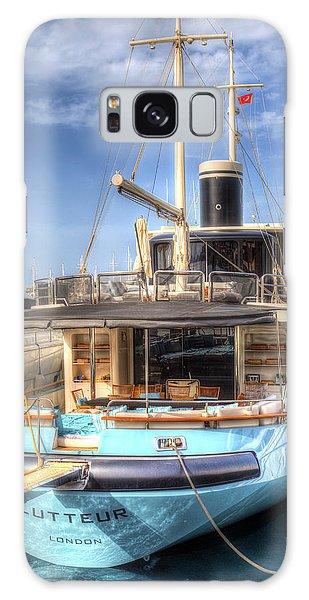 Motor Yacht Galaxy Case - Lutteur Motor Yacht by David Pyatt