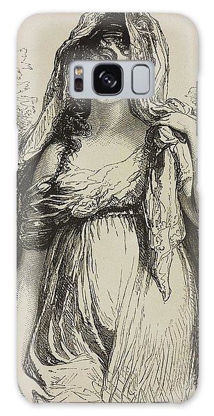 Engraving Galaxy Case - Madame Recamier by French School