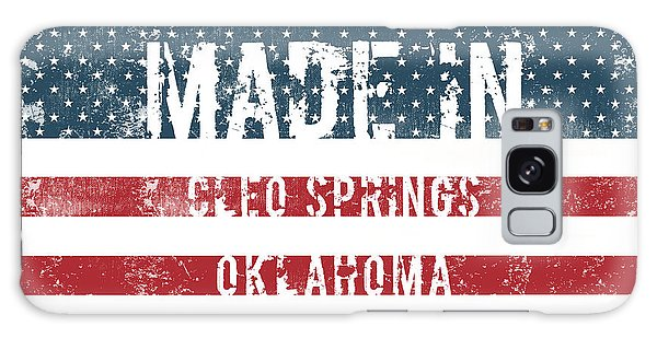 Ok Galaxy Case - Made In Cleo Springs, Oklahoma by Tinto Designs