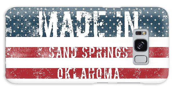 Ok Galaxy Case - Made In Sand Springs, Oklahoma by Tinto Designs