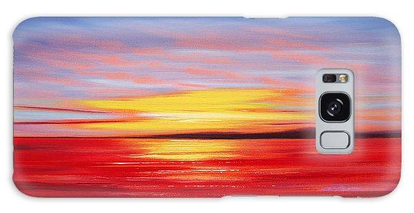 Magic At Sunset Galaxy Case