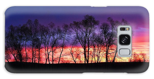 Magical Sunrise Galaxy Case by Dacia Doroff