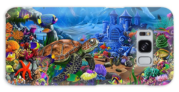 Turtle Galaxy Case - Magical Undersea Turtle by MGL Meiklejohn Graphics Licensing