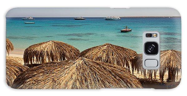 Mahmya Island Beach Galaxy Case