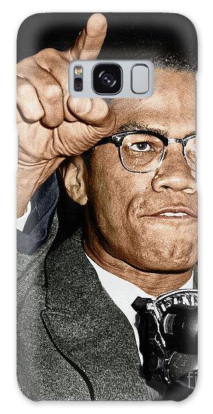 Malcom X Galaxy Case - Malcolm X by Granger