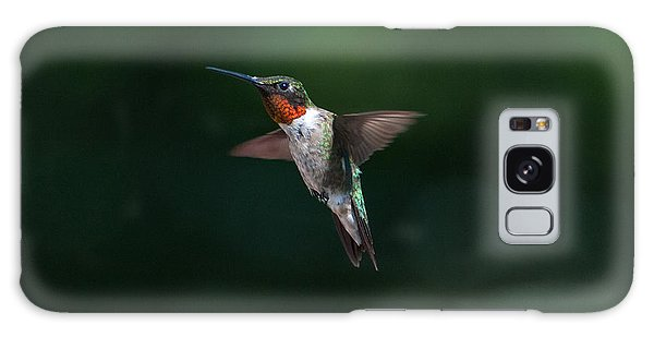 Male Ruby Throated Hummingbird Galaxy Case