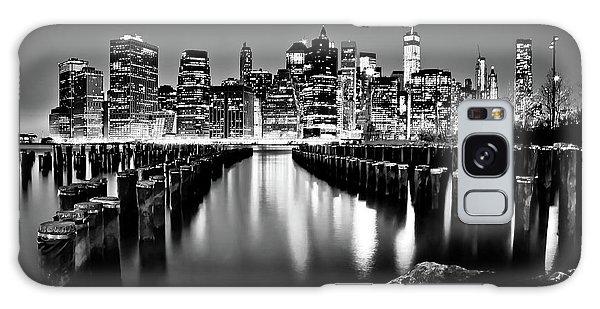 Center Galaxy Case - Manhattan Skyline At Night by Az Jackson