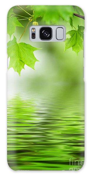 Maple Tree Galaxy Case