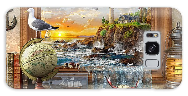 Shelves Galaxy Case - Marine To Life by MGL Meiklejohn Graphics Licensing