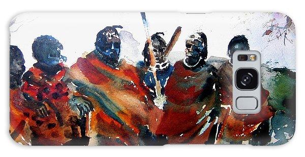 Masaai Boys Galaxy Case