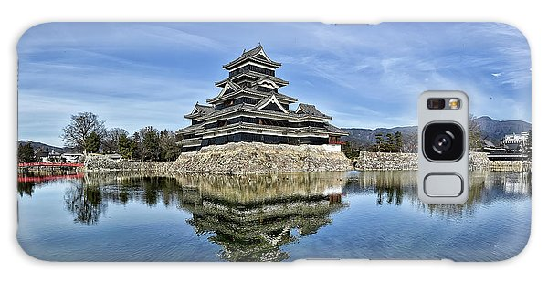 Matsumoto Castle Panorama Galaxy Case