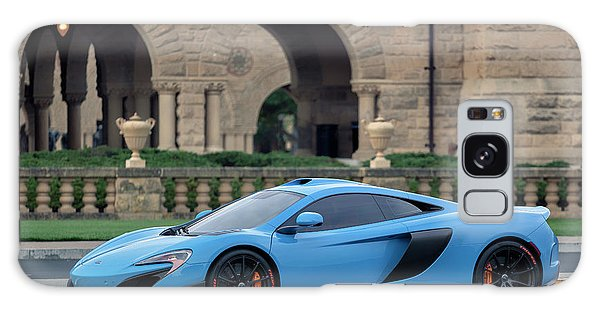 Galaxy Case featuring the photograph #mclaren #675lt With #pirelli #tires by ItzKirb Photography