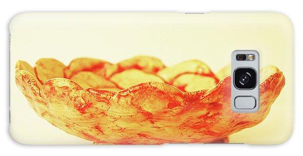 Medium Patches Bowl1 Galaxy Case by Itzhak Richter