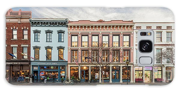Meeting Street - Charleston, South Carolina Galaxy Case by Carl Amoth