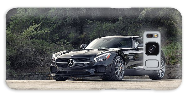 Galaxy Case featuring the photograph #mercedes #amg #gts by ItzKirb Photography