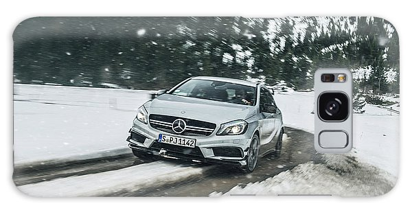 Mercedes Benz A45 Amg Snow Galaxy Case