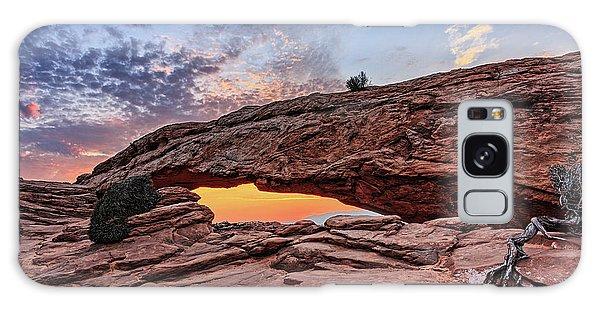 Mesa Arch At Sunrise Galaxy Case