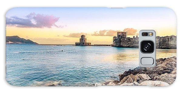 Methoni's Castle / Greece. Galaxy Case