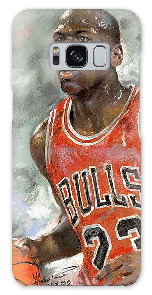 Basketball Galaxy S8 Case - Michael Jordan by Ylli Haruni