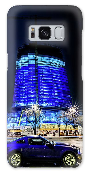 Galaxy Case featuring the photograph Midnight Blues by Randy Scherkenbach
