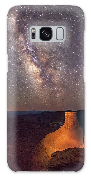 Milky Way At Marlboro Point Galaxy Case