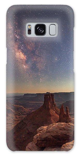 Milky Way At Twilight - Marlboro Point Galaxy Case