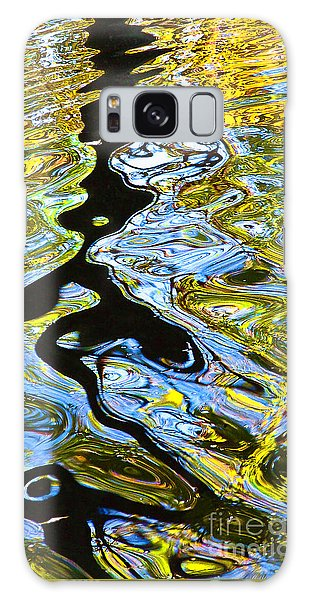 Mill Pond Reflection Galaxy Case by Tom Cameron