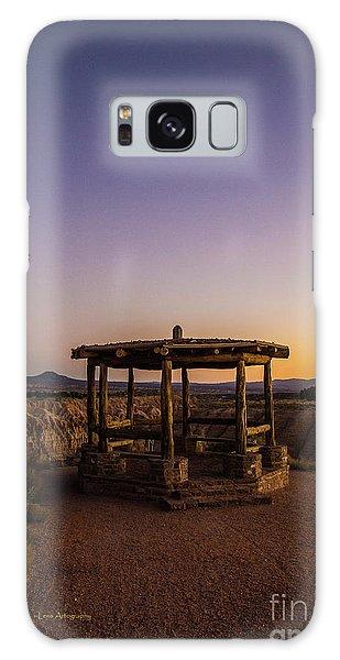 Cathedral Gorge Gazebo Galaxy Case
