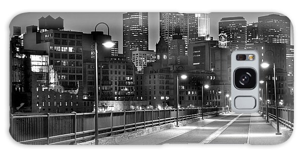 Minneapolis Skyline From Stone Arch Bridge Galaxy Case