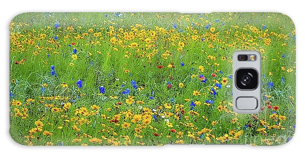 Mixed Wildflowers In Texas 538 Galaxy Case