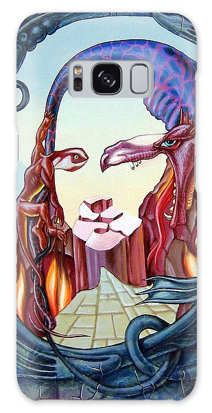 Mona Lisa. Fire Galaxy Case