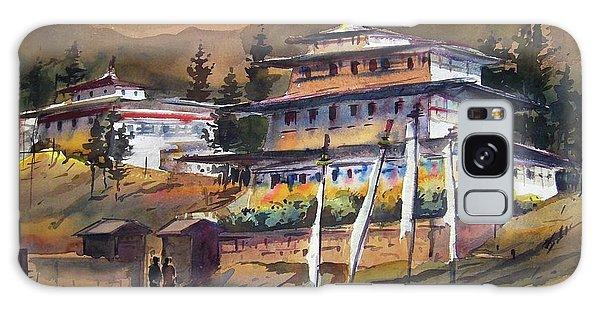 Monastery In Himalaya Mountain Galaxy Case by Samiran Sarkstery in Himalaya Mountainar
