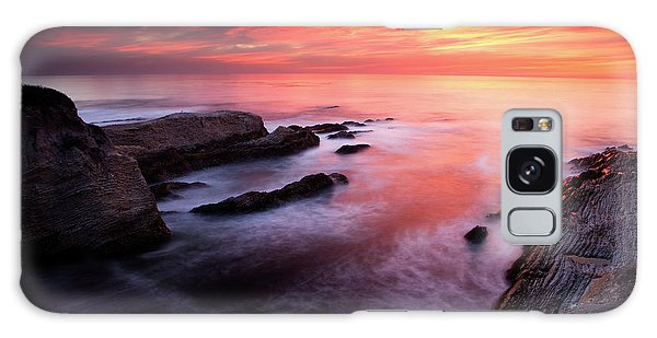 Montana De Oro Sunset Galaxy Case