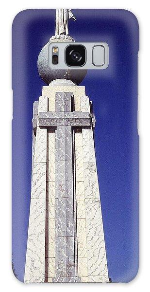 Monumento Al Divino Salvador Del Mundo Galaxy Case by Juergen Weiss