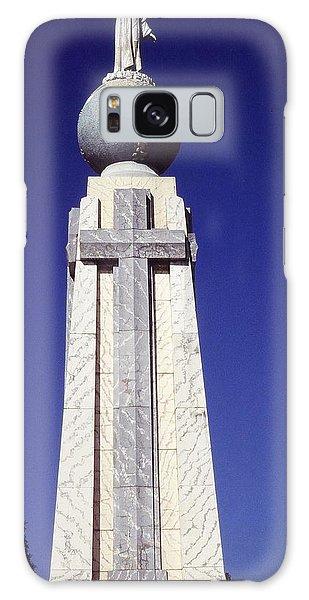 Monumento Al Divino Salvador Del Mundo Galaxy Case